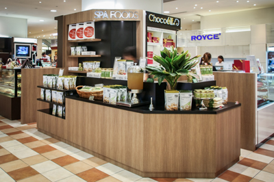 Retail Shop Interior Design Spa Foods | D'Marvel Scale Singapore