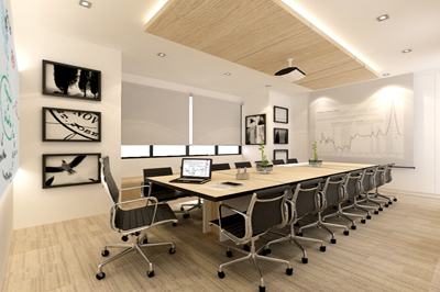 Office Interior Design Goodpack | D'Marvel Scale Singapore