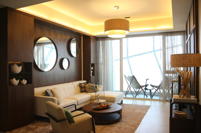 Showsuite Jade Palace Tropical Interior Design | D'Marvel Scale Singapore