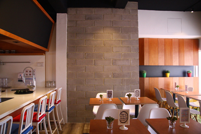 Food & Beverage Interior Design The REAL Hut | D'Marvel Scale Singapore