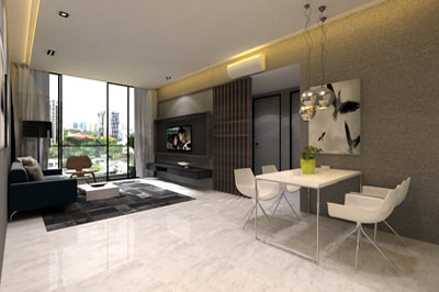 Showsuite Interior Design Type B | D'Marvel Scale Singapore